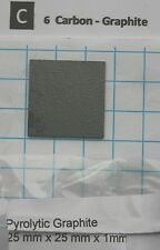 ~1,5 gram 99,99% Carbon Pyrolytic Graphite  -  pure element 6 sample