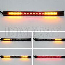 Universal 48 LED Flexibel Motorrad Rücklicht Bremslicht Blinker Streifen Licht