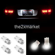4pcs LED Light Car Bulbs T10 656 657 1250 1251 W5W White For License Plate Light