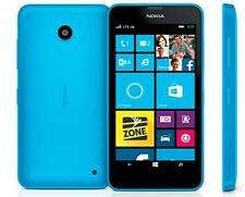 "Unlocked Original Nokia Lumia 635 RM974 8GB 4.5"" Windows 8.1 Smartphone Blue"