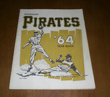1964 PITTSBURGH PIRATES OFFICIAL YEARBOOK