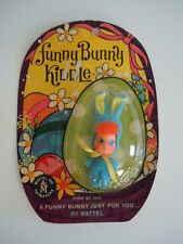 Vintage 1967 Mattel Funny Bunny Kiddle # 3532 Mint On Card