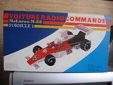 1/12 FORMULE 1 McLAREN M23  RADIO COMMANDE 1975 NEUVE EN BOITE