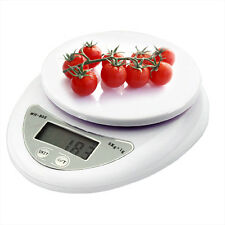 LCD Digital Electric Kitchen Weighing Scales Postal Parcel Food Weight Diet 5Kg