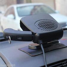 12V Portable Ceramic Heating Cooling Heater Fan Vehicle Car Defroster Demister