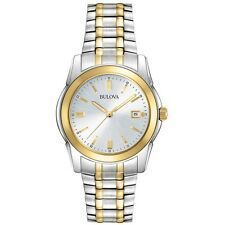 Bulova Men's 98H18 Two Tone Stainless Steel Bracelet Watch