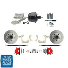 "1955-58 GM Disc Brakes W/ 8"" Dual Powder Coated / Aluminum Conversion Kit 713R"