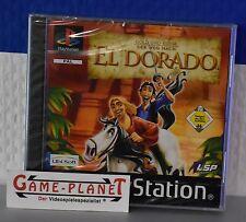 Gold & Ruhm:der Weg nach  El Dorado OVP Sony Playstation 1 P1 PSX Pone NEU