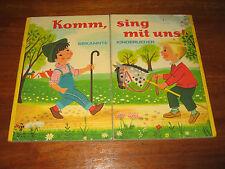 (E631) ALTES PAPP-KLAPP-KINDERBUCH KOMM SING MIT UNS PESTALOZZI VERLAG UM 1970