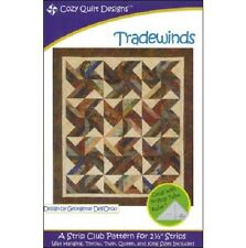 TRADEWINDS QUILT PATTERN, A Strip Club Pattern From Cozy Quilt Designs NEW