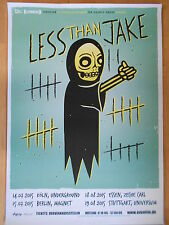 LESS THAN JAKE 2015 TOUR  -  orig.Concert Poster  --  Konzert Plakat  NEU