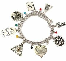 FANTASTIC BEASTS MOVIE ( 8 Themed Charms) Assorted Metal Charm BRACELET