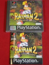 RAYMAN 2 THE GREAT ESCAPE PLAYSTATION 1 PS1 PSONE PS2 PS3