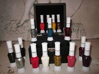 Nagellack 16 Verschiede Farben Nail Art Fine Liner Polish mit Box