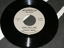 NM Dead Stock ANTHONY NEWLEY Oddball Single For President Kennedy LAMENT A HERO