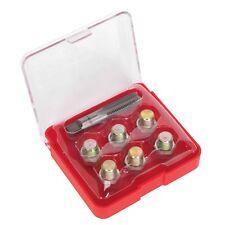 Cárter de aceite Gearbox Tapón de drenaje de reparación de roscas Kit De Herramientas De M13 X 1,5 Mm Tap & Threads