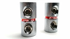 2 Pack Stinger 4 Gauge AWG Power and Ground Wire Platinum Couplers SPT5211
