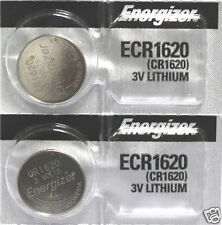 2 New ENERGIZER CR1620 Lithium 3v Coin Battery Australia Stock FAST SHIPPING