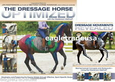 Dressage Horse Optimized / Movements Revealed  by Jim Masterson - BOOK + DVD Set