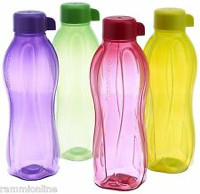 Tupperware Aqua Safe ECO Sport 1000 ML 32oz 1L Water Bottles (Set of 4) Original