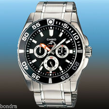 Casio MDV302D-1AV Men's Watch Duro 200 Diver's Black Dial Fishing Watch 200M New