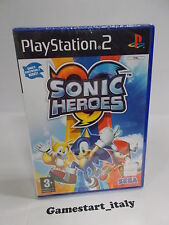 SONIC HEROES - SONY PS2 PLAYSTATION 2 - NUOVO SIGILLATO NEW