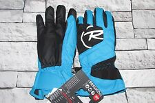 ROSSlGNOL Boys Blue & Black Waterproof Ski Skiing Gloves Size 16 BNWT