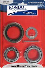 Trailer Bearing Race Kit 3500# Axle Standard Tapered kit will do 1 wheel BK2-100