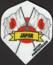 Flag of Japan PENTATHLON Dart Flights: 3 per set