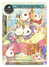FORCE OF WILL RABBIT OF THE AQUA MOON RL1703-1 BRAND NEW PROMO FREE SHIPPING