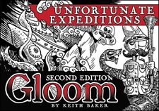 Gloom Card Game-Unfortunate Expeditions 2nd Edition (New)