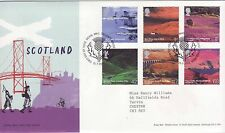 GB Stamps First Day Cover A British Journey - Scotland, piper SHS Thistle 2003