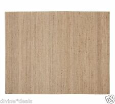 New 5 x 8 Pottery Barn Duncan Diamond FIber Jute Rug Nuetral- New and Great
