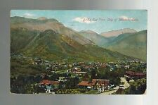 1909 Colorado Manitou Boulder to Mississippi USA Real Picture Postcard Cover