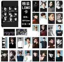 30pcs set Kpop EXO XOXO Collective ChanYeol LAY SeHun BaekHyun KAI Lomo Card