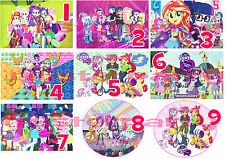 Cialda - Ostia per torte Equestria Girls Friendship My Little Pony -  Anche A3!