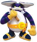 "NEW Great Eastern (GE-52647) Sonic the Hedgehog - Big The Cat 12"" Stuffed Plush"