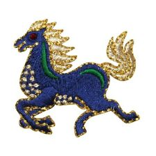 ID 0743 Horse Farm Animal Embroidered Iron On Applique Patch