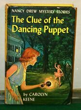 Vintage Book - Nancy Drew Mystery No 39 - The Clue of the Dancing Puppet 1962
