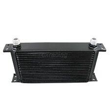 Universal Black 19 Row AN10 10 AN 10AN Oil Cooler For Sr20det KA24DE 240SX
