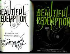Kami Garcia Margaret Stohl signed Beautiful Redemption 1st print hardcover book