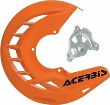 Acerbis X-Brake Orange Front Disc Cover w/ Mounting For KTM 250 300 450 04-14