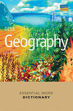 """John Pallister GCSE Geography Essential Word Dictionary """"AS NEW"""" Book"""