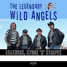 LP The Wild Angels LEATHERS, STUDS 'N' STRIPES  LIMITED VINYL EDITION ( P.2017 )