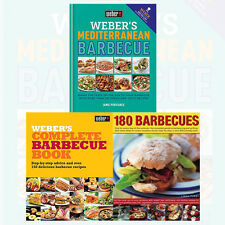 Jamie Purviance Weber's Barbecue 3 Books Collection Set Pack 180 Barbecues NEW