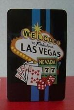 Welcome to Las Vegas Playing Cards in Plastic Box