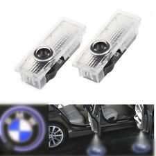 2 x Cree Led Car Door Courtesy Laser Projector Logo Ghost Shadow Light BMW Hot