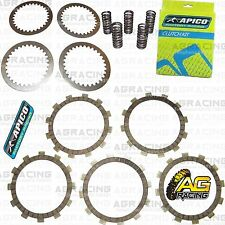 Apico Clutch Kit Steel Friction Plates & Springs For Suzuki RM 85 2010 Motocross