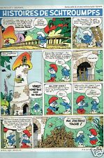 Publicité advertising 1985 Histoires de Schtroumpfs par Peyo et Delporte