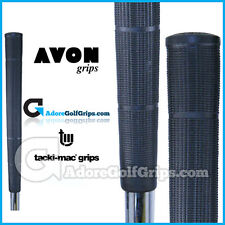 Avon Tacki-Mac Arthritic Serrated Jumbo Golf Grips - Black  x 9